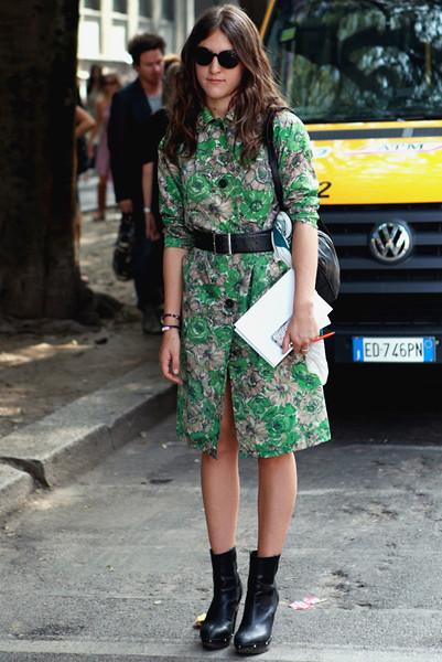 Milan Fashion Week: Уличный стиль, день 4. Изображение № 7.