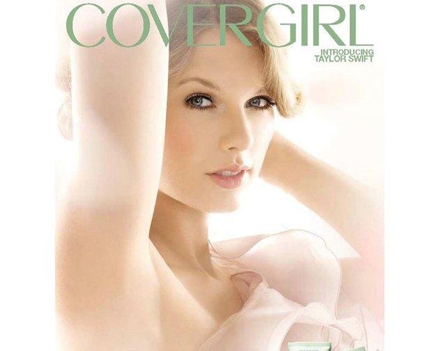 Тейлор Свифт в рекламе тонального средства Natureluxe Covergirl. Изображение № 5.