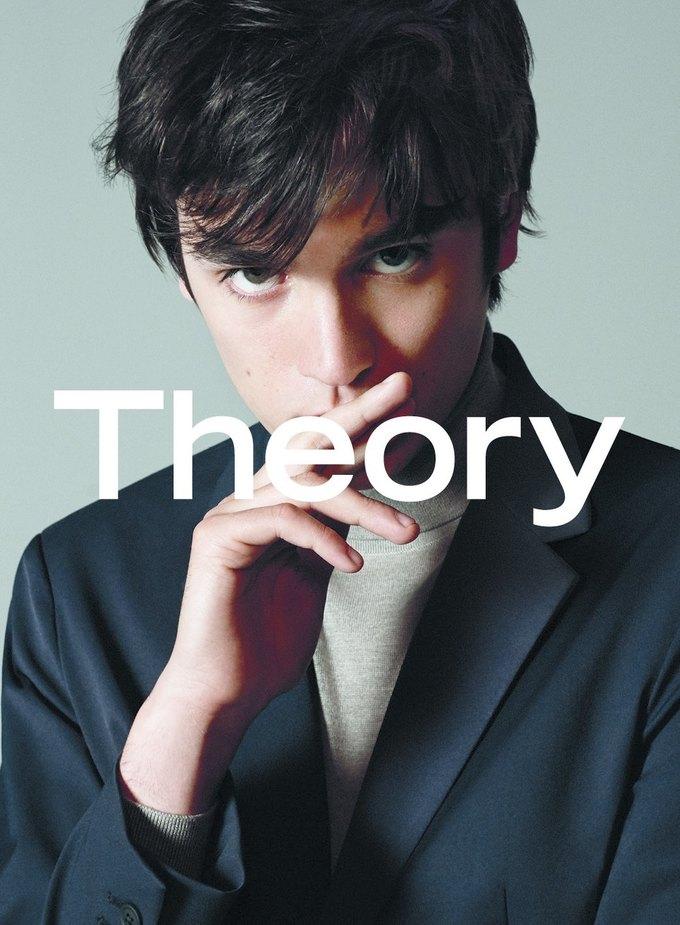 Сын Алена Делона стал лицом новой коллекции Theory. Изображение № 3.