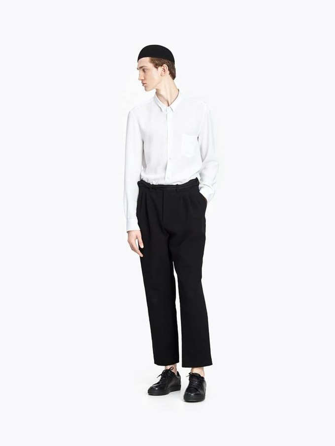 У марки Cyrille Gassiline появится линейка мужской одежды. Изображение № 1.