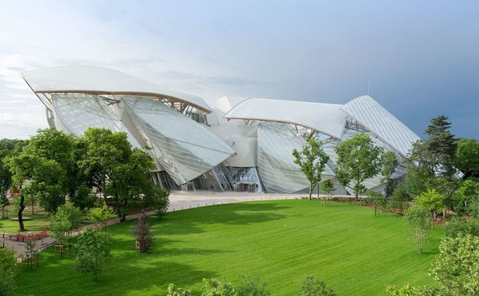 Музей Foundation Louis Vuitton. Изображение № 1.
