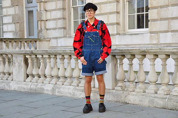 London Fashion Week: Уличный стиль, часть 3. Изображение № 7.