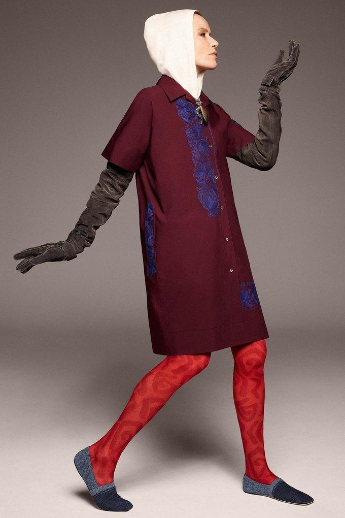 В лукбуке Acne Studios снялась 78-летняя супермодель Верушка. Изображение № 10.