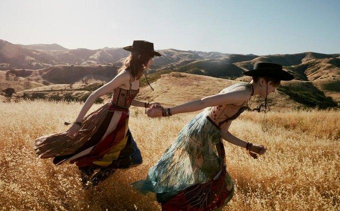 Калифорнийские просторы и ковбойские мотивы  в кампании Dior. Изображение № 5.