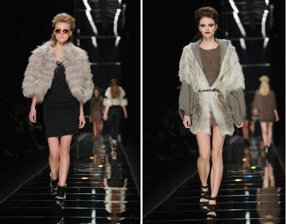 Изображение 6. Показы на Milan Fashion Week FW 2011: день 1.. Изображение № 4.