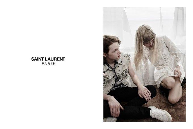 Звезда «Любви» Гаспара Ноэ и сын Килмера снялись в рекламе Saint Laurent. Изображение № 25.
