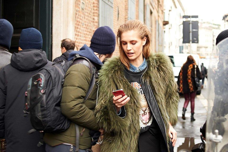 Стритстайл: Неделя моды в Милане,  часть III. Изображение № 7.
