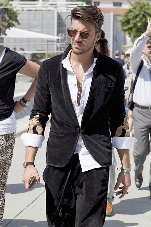 Красивые  мужчины  на Pitti Uomo. Изображение № 6.