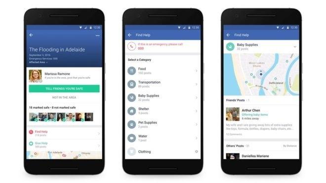 В Facebook появится функция взаимопомощи во время бедствий. Изображение № 1.