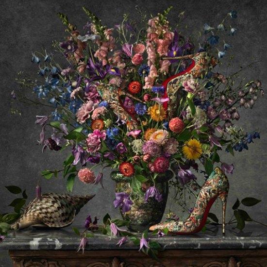 Туфли Christian Louboutin на полотнах Ван Гога, Моне и Сезанна. Изображение № 3.