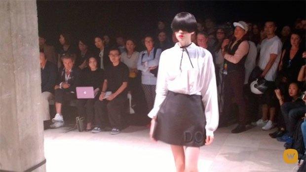 Прямой репортаж  с Paris Fashion Week:  День 2. Изображение № 10.