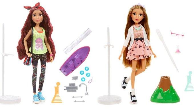 Новые куклы учат девочек заниматься наукой и становиться инженерами. Изображение № 2.