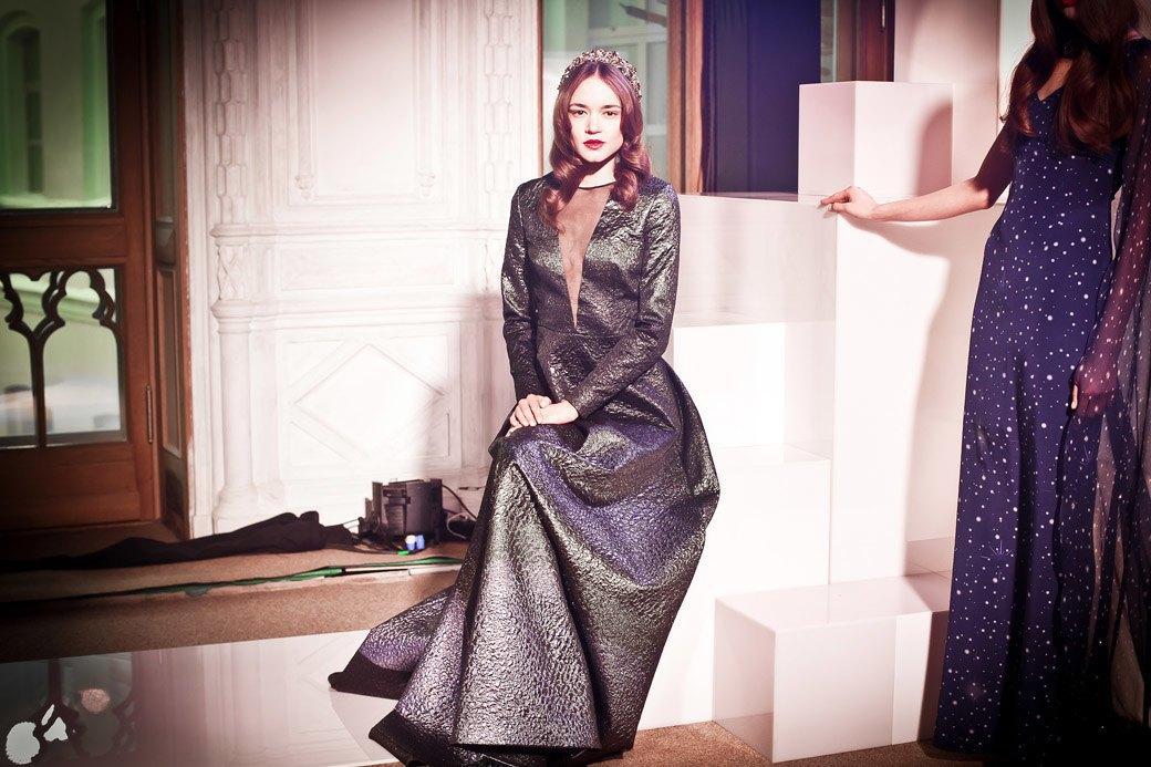 Репортаж: Бархатные платья  и светящиеся кубы на LUBLU Kira Plastinina FW 2013. Изображение № 37.