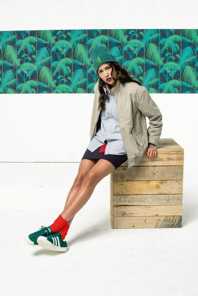 Новый лукбук Adidas Originals — в стиле вогинг. Изображение № 13.