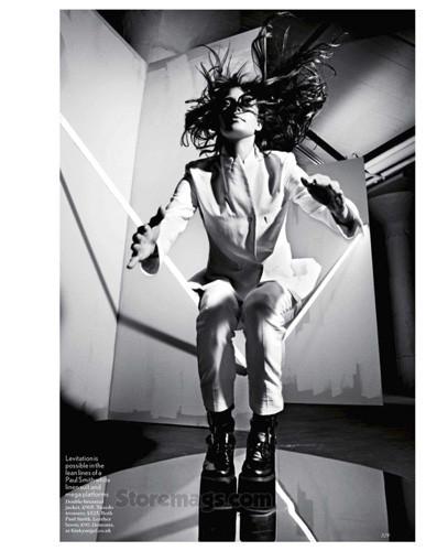 Эмелин Валад для британского Vogue, март 2012 . Изображение № 42.
