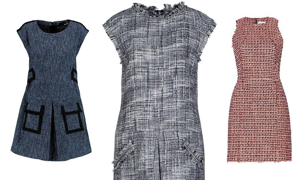 Что носить осенью: Пальто, платья, обувь и другие актуальные вещи из твида. Изображение № 5.