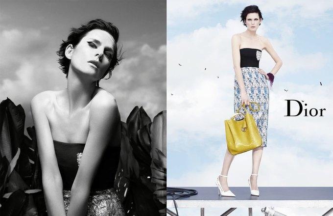 Стелла Теннант в весенне-летней кампании Dior. Изображение № 4.