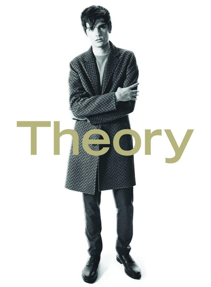 Сын Алена Делона стал лицом новой коллекции Theory. Изображение № 6.