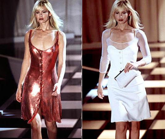 Versace SS 1996. Изображение № 22.