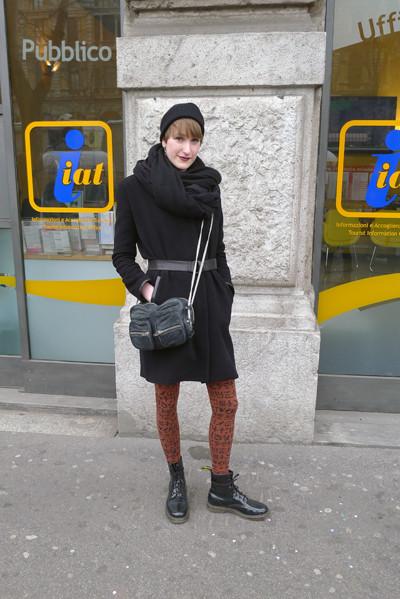 Изображение 11. Milan Fashion Week: день четвертый – луки.. Изображение № 11.