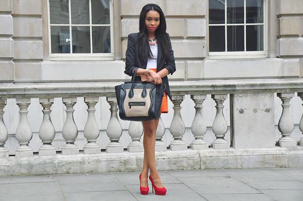 London Fashion Week: Уличный стиль, часть 2. Изображение № 4.