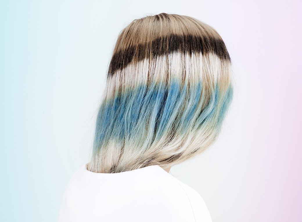 Инструкция: Цветные волосы быстро и ненадолго. Изображение № 5.
