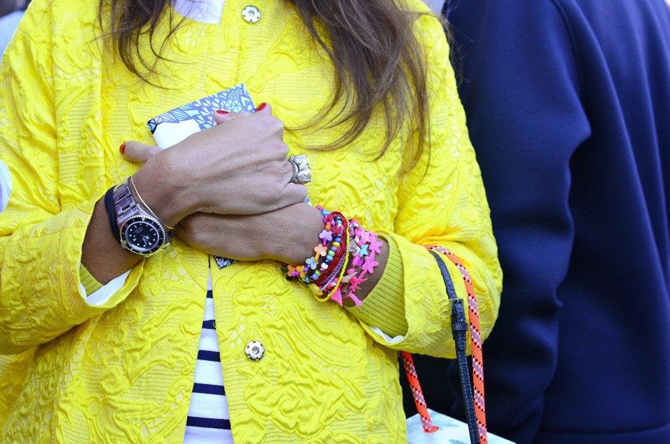 Парень в камуфляже, девушка-Микки-Маус и другие гости Paris Fashion Week. Изображение № 21.
