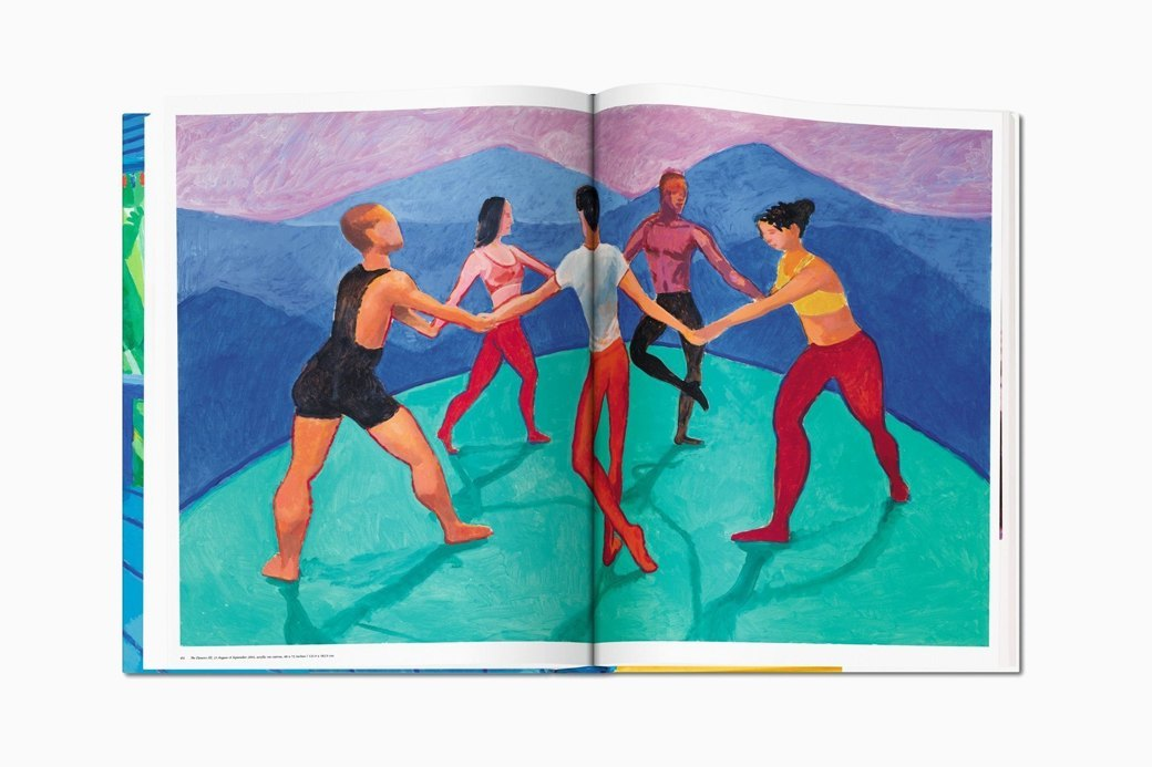 Гигантский альбом Taschen с работами Дэвида Хокни. Изображение № 7.