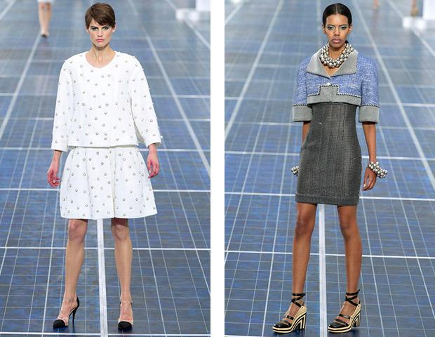 Парижская неделя моды: Показы Chanel, Valentino, Alexander McQueen и Paco Rabanne. Изображение № 1.