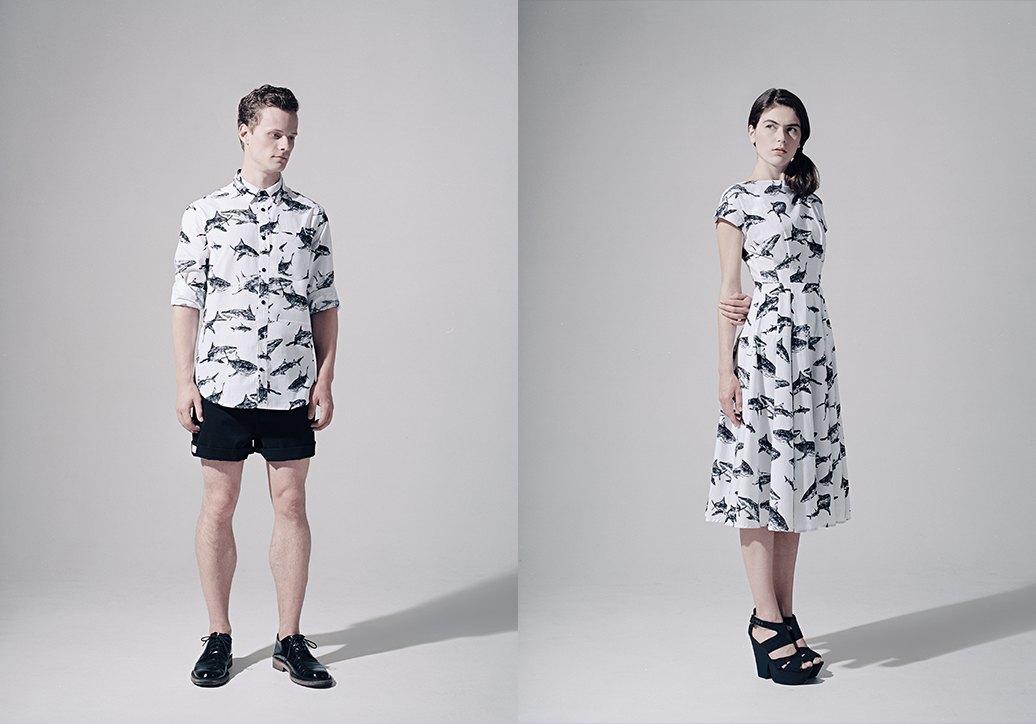 Платья и рубашки с акулами Binary. Изображение № 2.