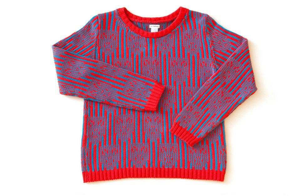 Теплые свитеры ALL Knitwear с геометричным узором. Изображение № 7.