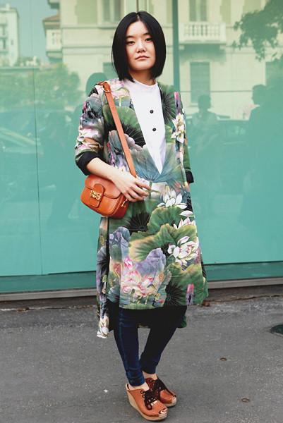 Milan Fashion Week: Уличный стиль, день 3. Изображение № 8.