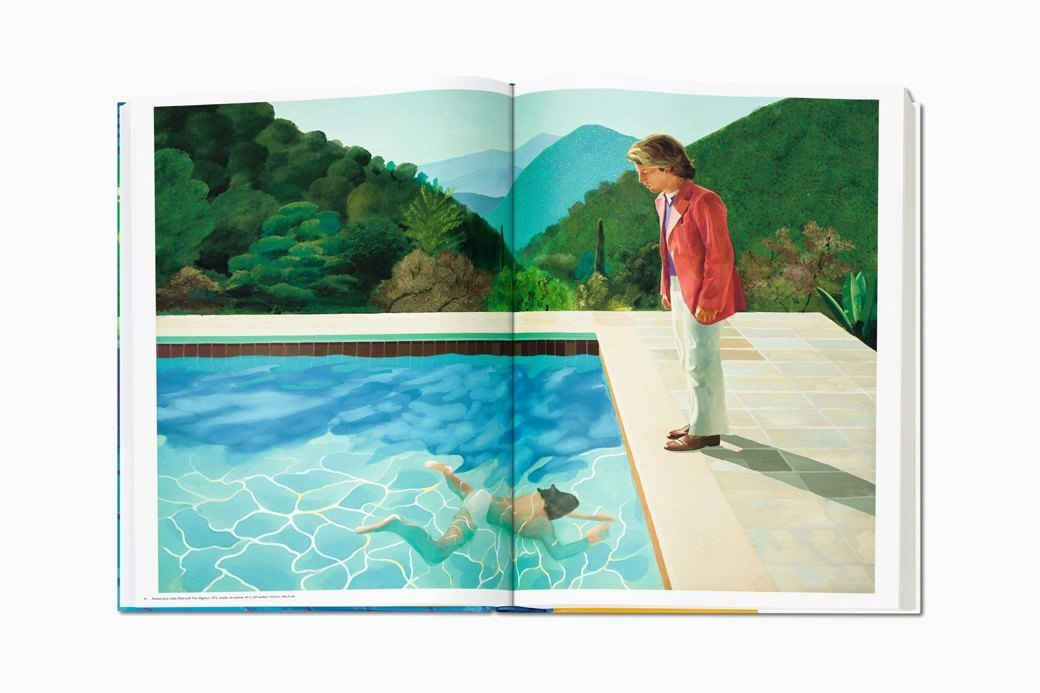 Гигантский альбом Taschen с работами Дэвида Хокни. Изображение № 5.