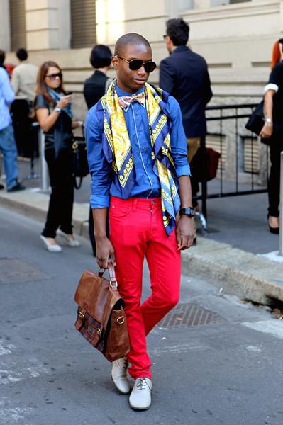 Milan Fashion Week: Уличный стиль, день 1. Изображение № 1.