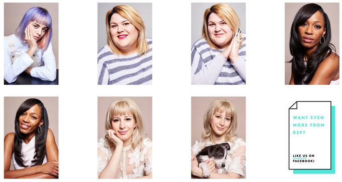 Семь известных женщин снялись с макияжем и без. Изображение № 2.