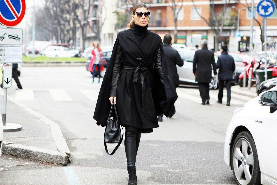 Анна Делло-Руссо, Элеонора Каризи и другие гости Миланской недели моды. Изображение № 19.