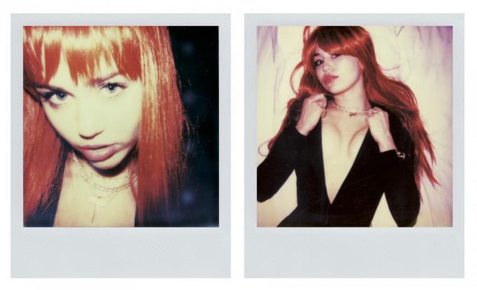 Майли Сайрус показала откровенные личные полароиды в V Magazine. Изображение № 3.
