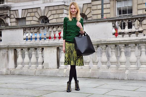 London Fashion Week: Уличный стиль, часть 2. Изображение № 7.