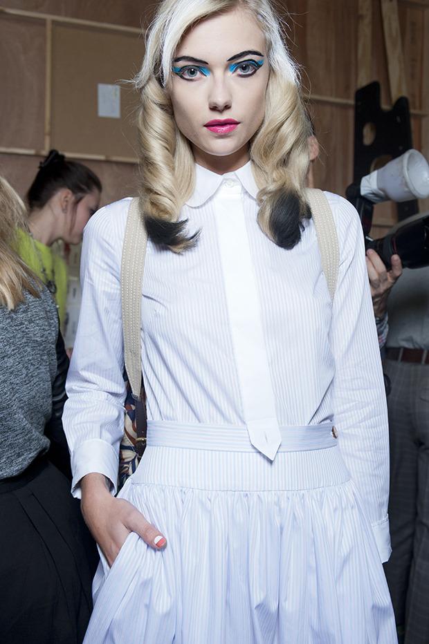 Неделя моды в Лондоне: Бэкстейджи. Изображение № 5.