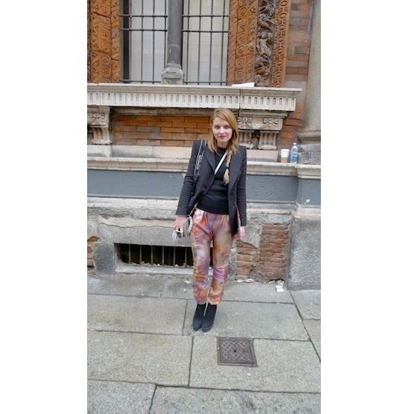 Изображение 3. Milan Fashion Week: день шестой — луки.. Изображение № 3.