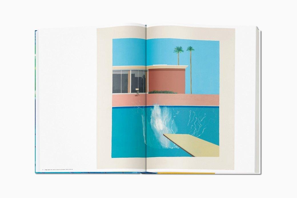 Гигантский альбом Taschen с работами Дэвида Хокни. Изображение № 1.