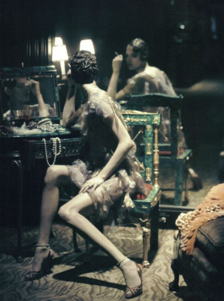 Фрея Беха Эриксен в съёмке для итальянского Vogue. Изображение № 58.