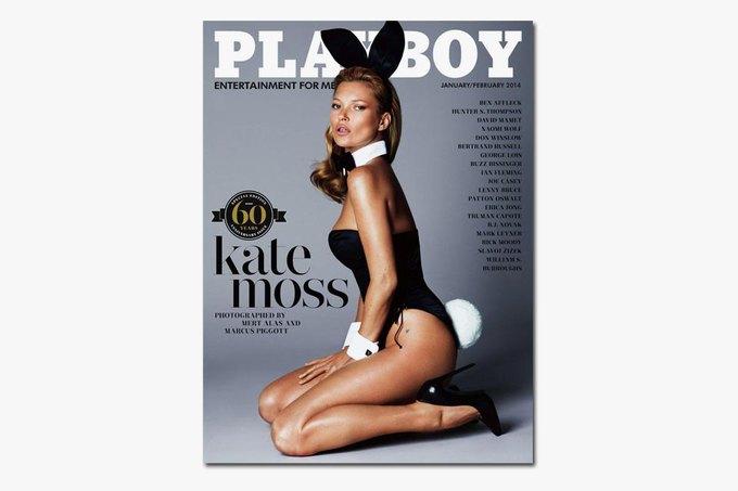 Кейт Мосс снялась для юбилейного номера Playboy. Изображение № 1.