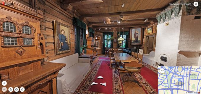 На «Яндекс.Картах» появились панорамы всех залов Третьяковки. Изображение № 1.