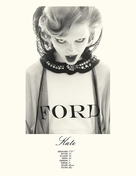 Композитки пяти модельных агентств к Нью-Йоркской неделе моды. Изображение № 47.