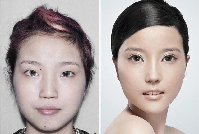 Стандарты красоты: китаянки после пластики. Изображение № 5.