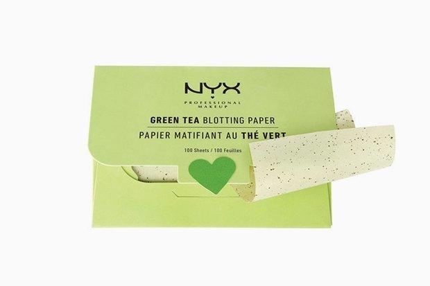 Матирующие салфетки NYX Green Tea Blotting Paper. Изображение № 27.