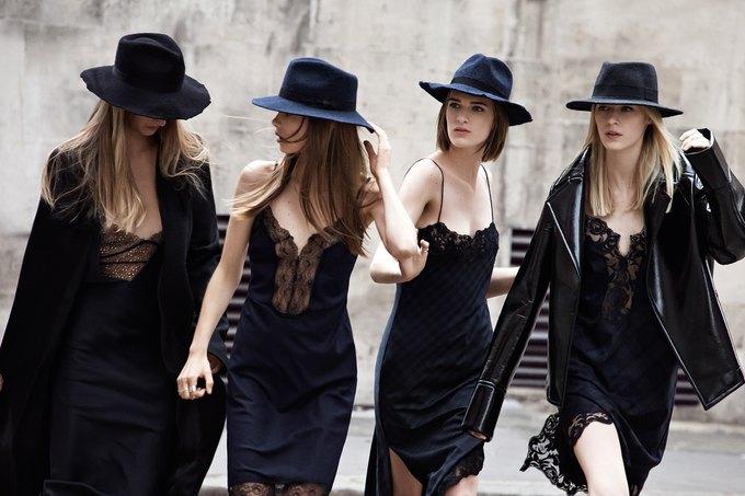 Модели на улицах Лондона в новой кампании Zara. Изображение № 6.