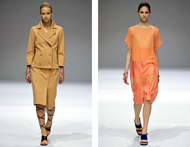 Неделя моды в Париже: показы Veronique Branquinho, Cedric Charlier, Anthony Vaccarello и Aganovich. Изображение № 1.