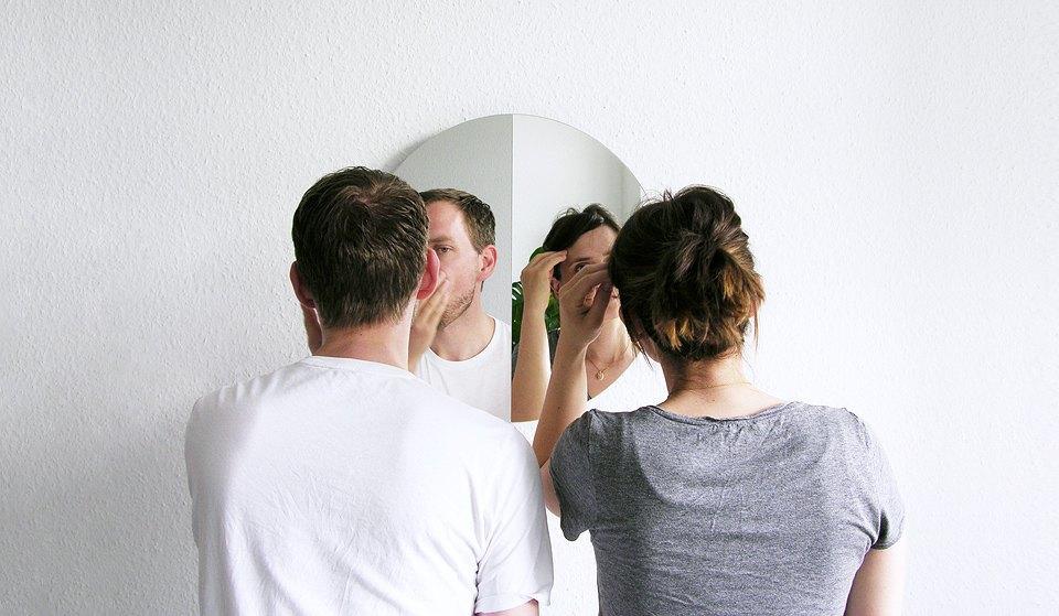Зеркало для двоих Halb/Halb. Изображение № 1.